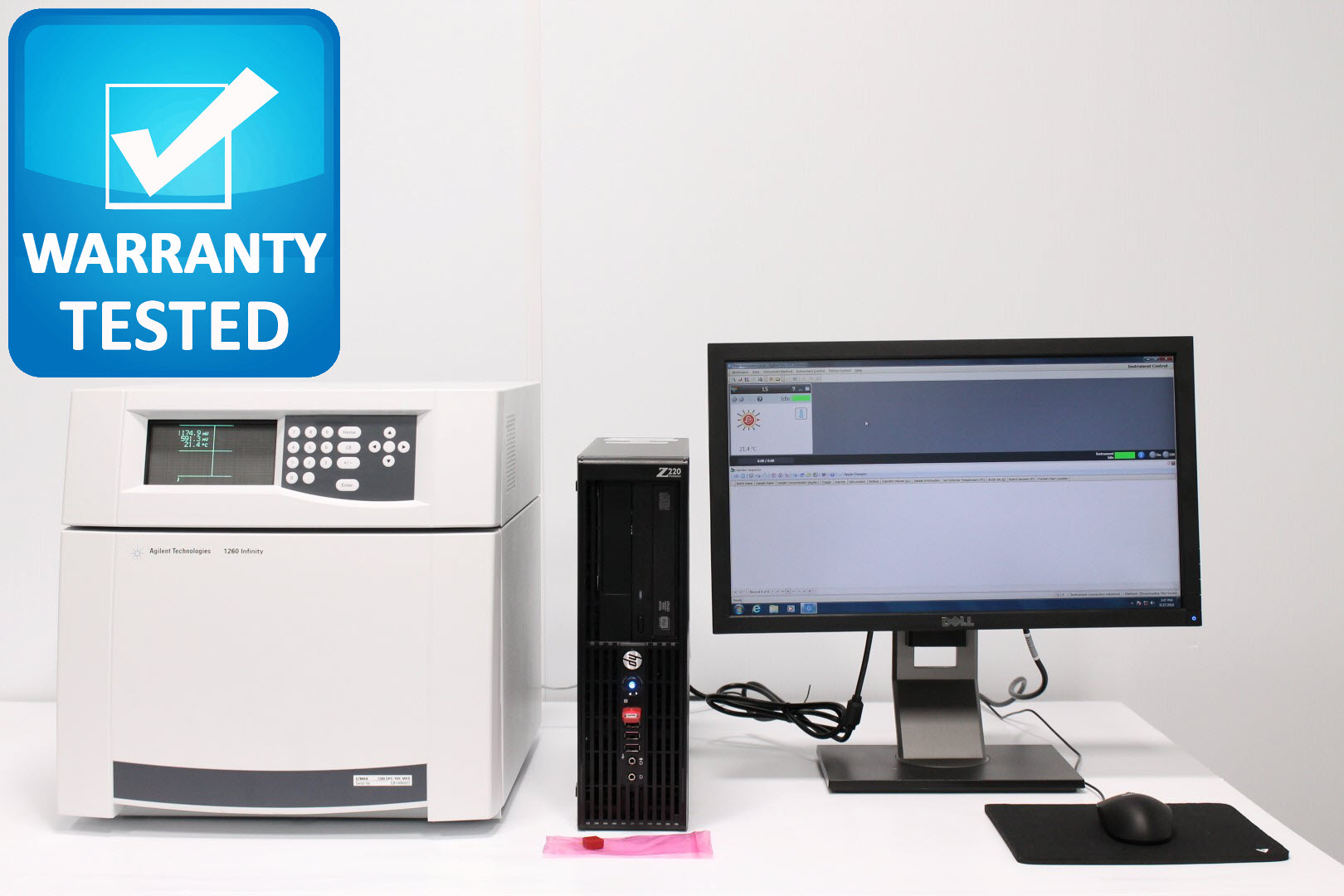 Agilent 1260 Infinity G7800A GPC/SEC Control Module w Bio-Sec Software