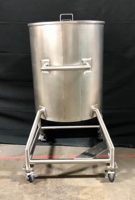 140 Gal Mobile Stainless Steel Kettle
