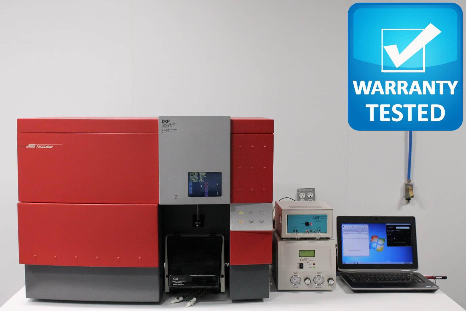 BD FACSCalibur Flow Cytometer w/ Cytek DxP Multi-Color Upgrade 3 Laser/10 Color