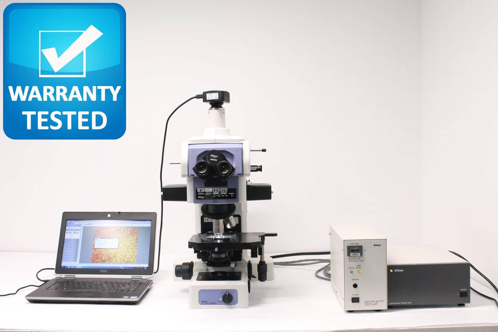 Nikon E800 Fluorescence Microscope