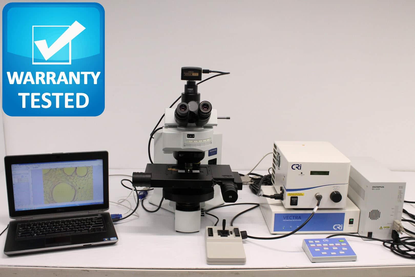Olympus BX61 Motorized Fluorescence Microscope Unit 3