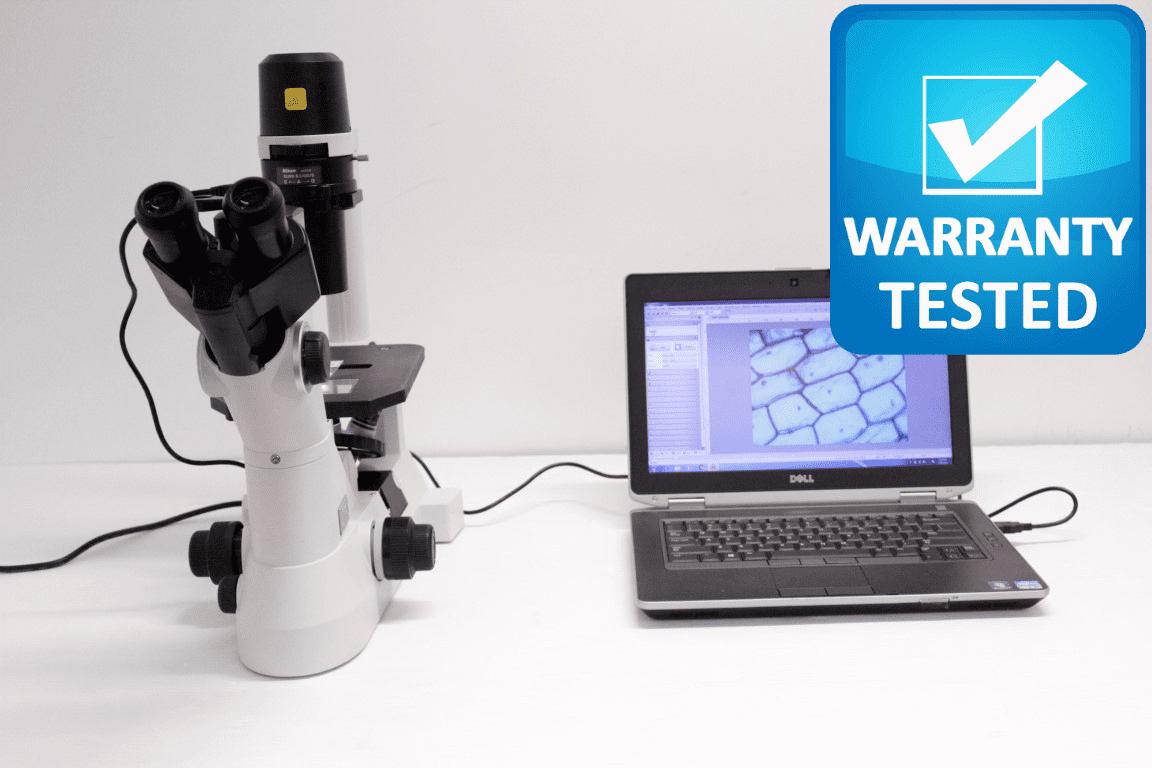 Nikon Eclipse TS100 Inverted Microscope