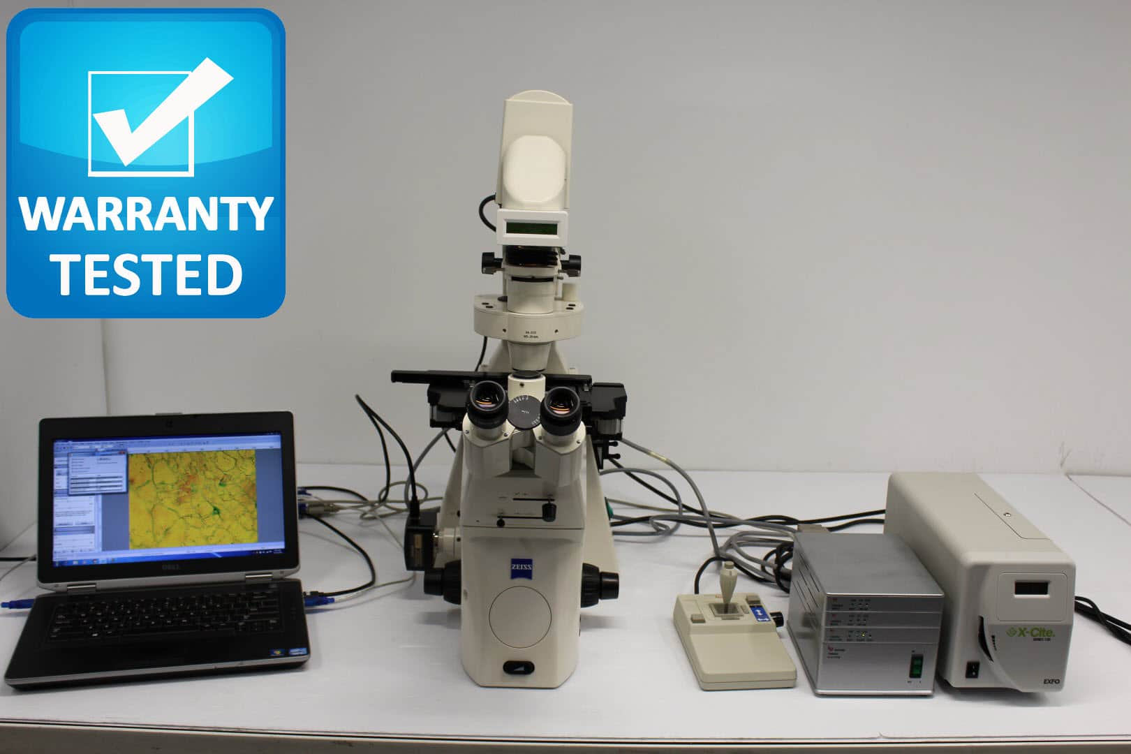 Zeiss Axiovert 200M Inverted Motorized Fluorescence Phase Contrast Microscope Pred Observer Z1