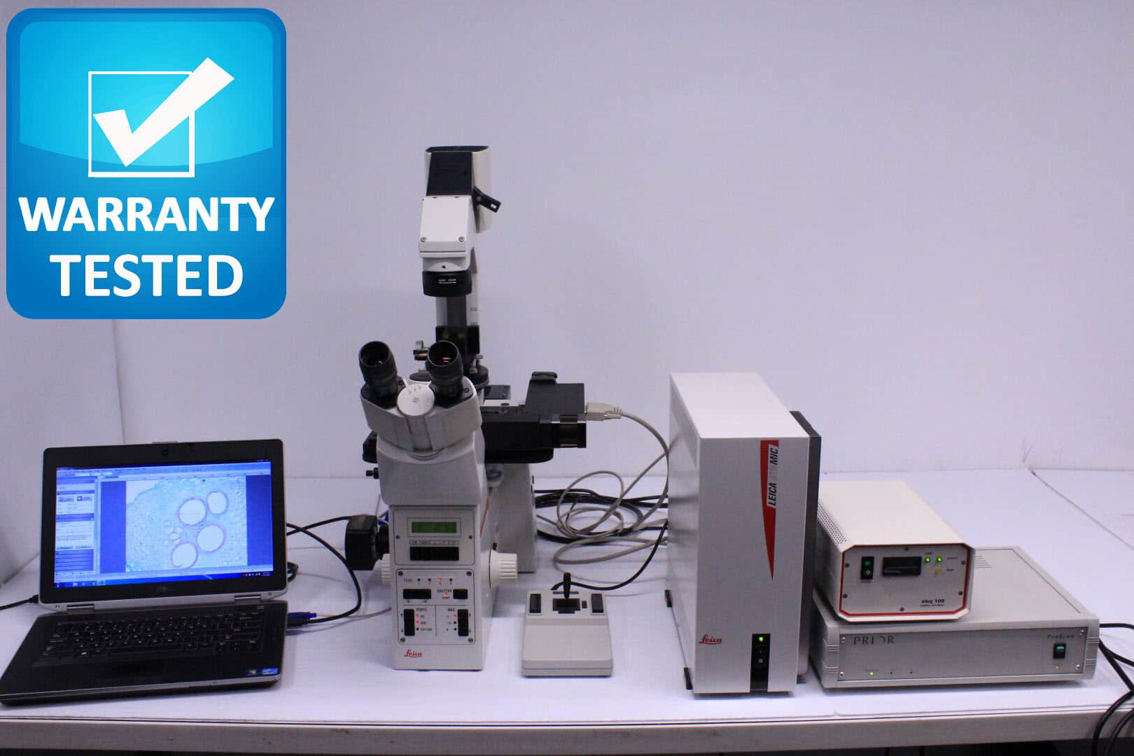 Leica DM IRE 2 Inverted Motorized Microscope DMIRE2