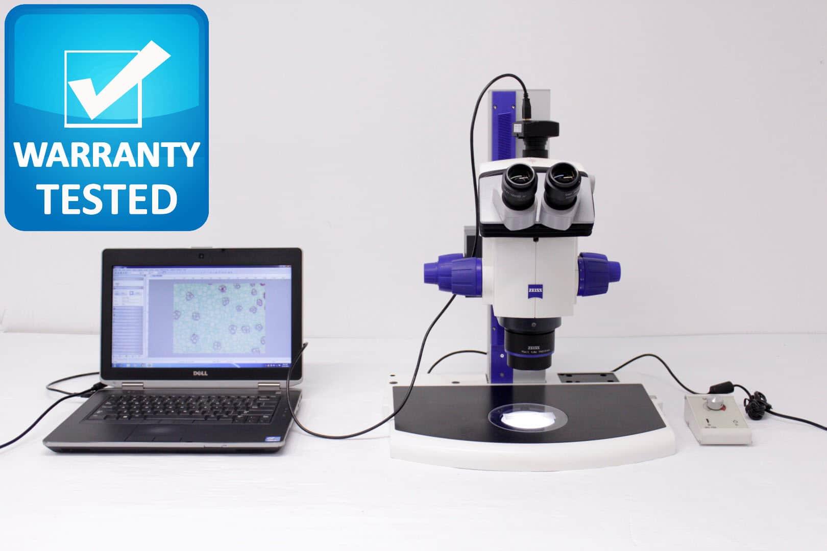Zeiss Discovery.V8 Stereo Microscope Stereoscope Unit2