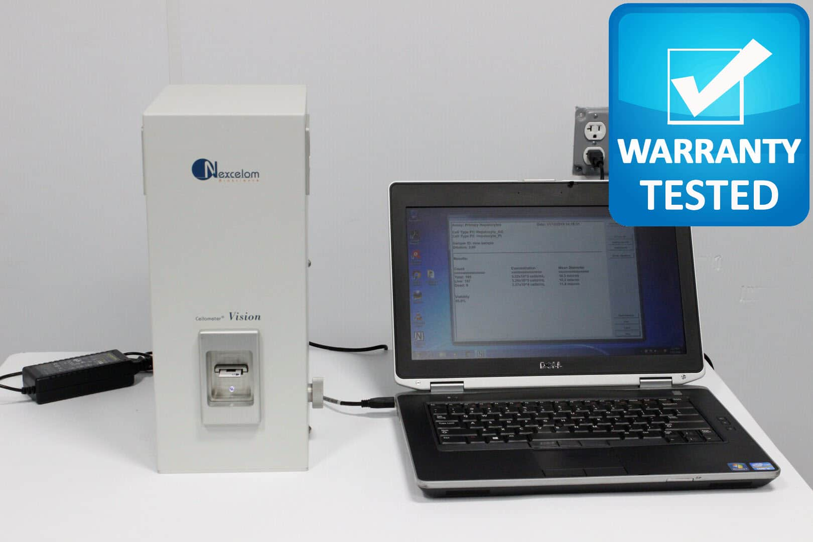 Nexcelom Cellometer Vision Fluorescence Cytometer Cell Counter