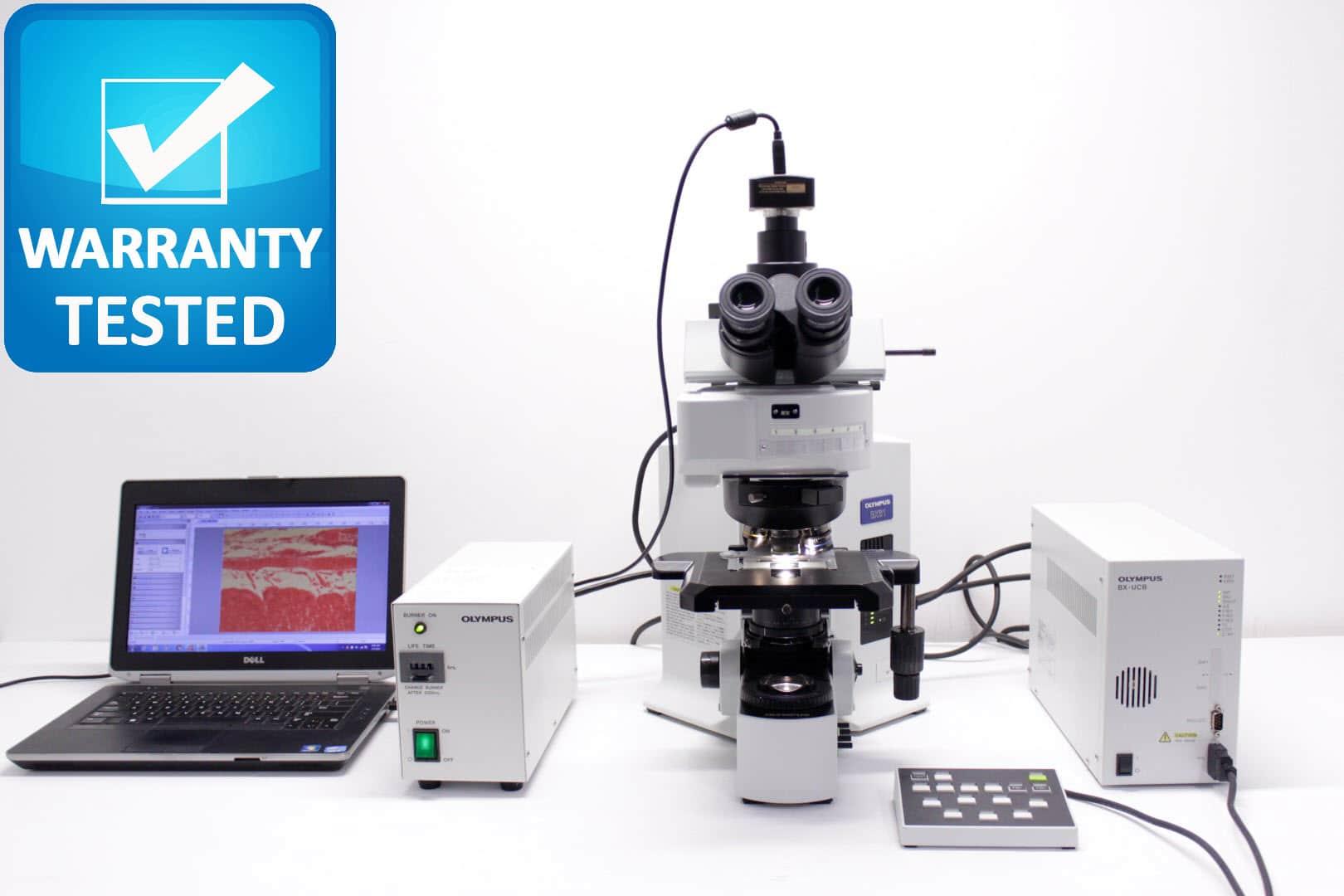 Olympus BX61 Fluorescence Microscope BX61TRF Unit2