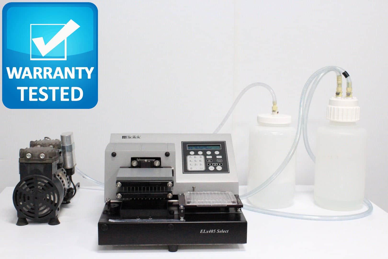 BioTek ELx405 Select Deep Well Microplate Washer ELX405UV