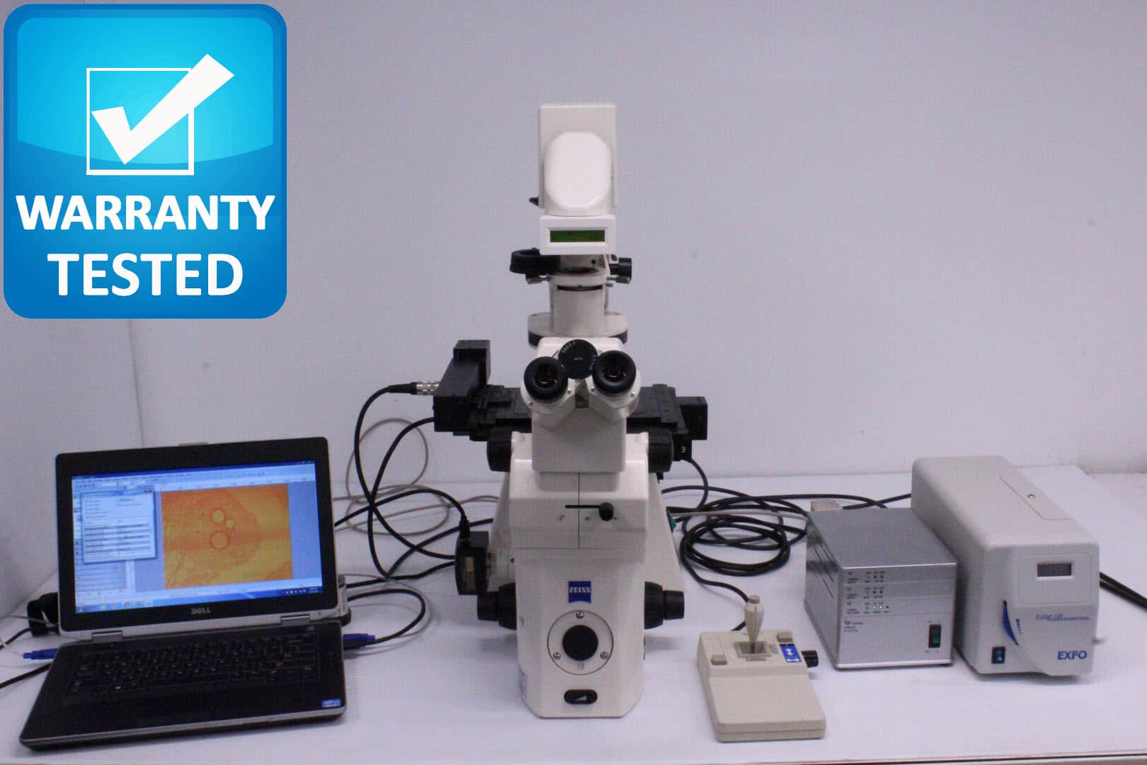 Zeiss Axiovert 200M Inverted Fluorescence Motorized Microscope