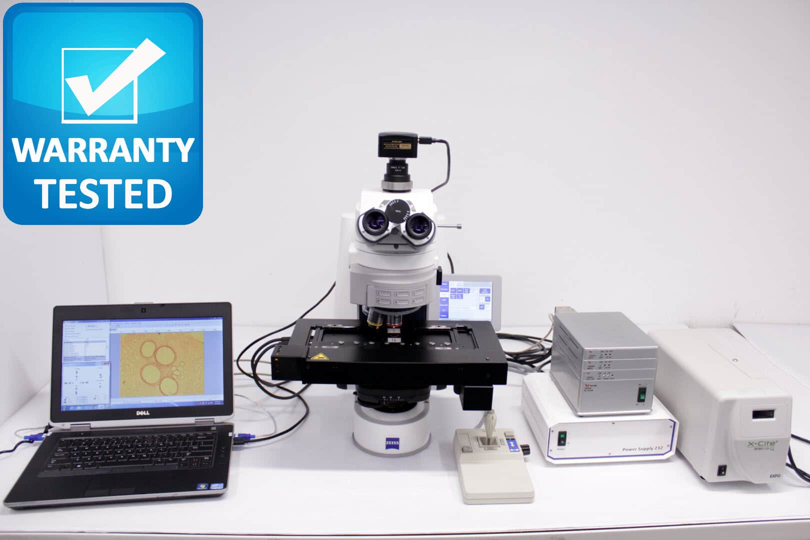 Zeiss AXIO Imager.Z2 Motorized Fluorescence Microscope