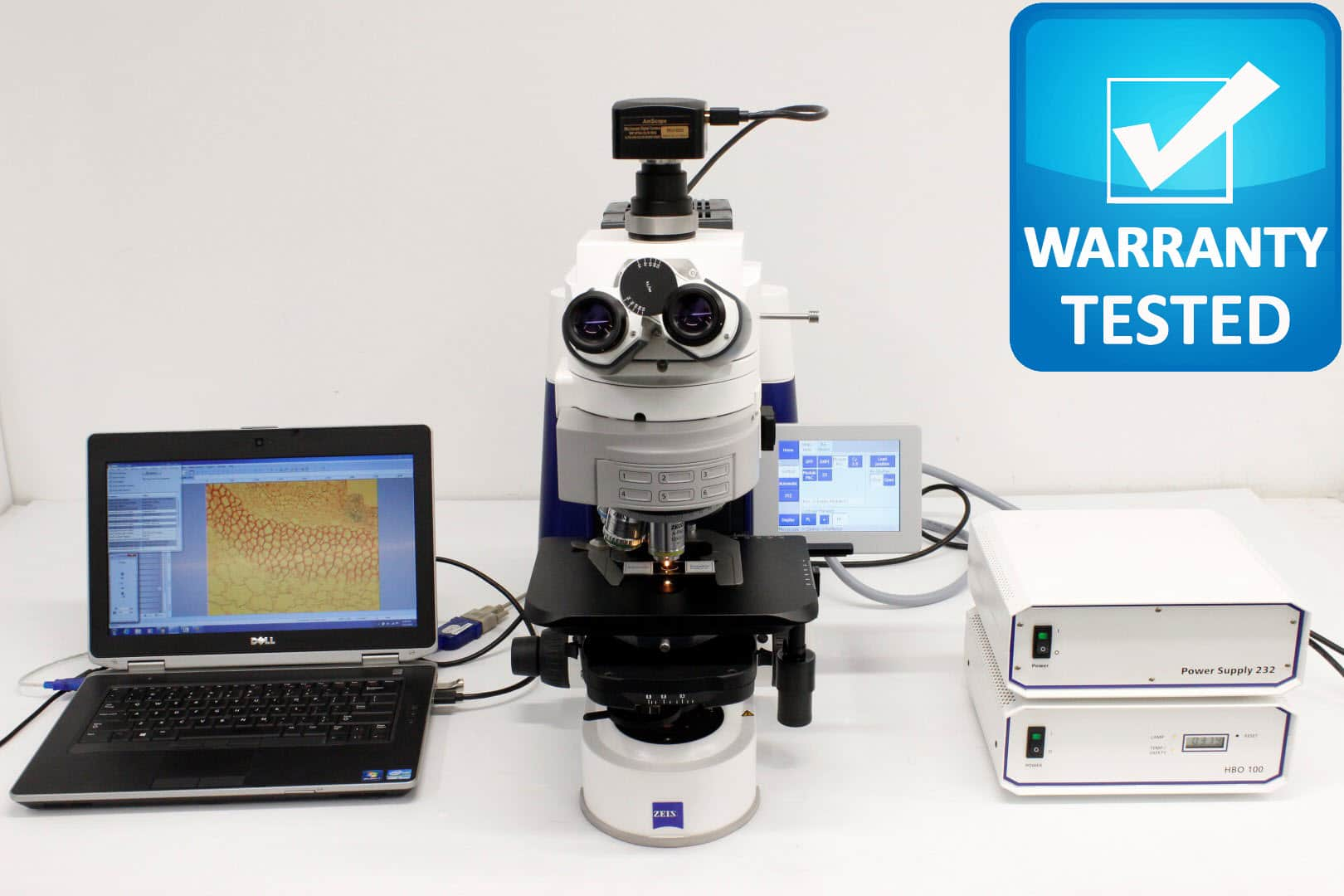 Zeiss AXIO Imager.M1 Motorized Fluorescence Microscope