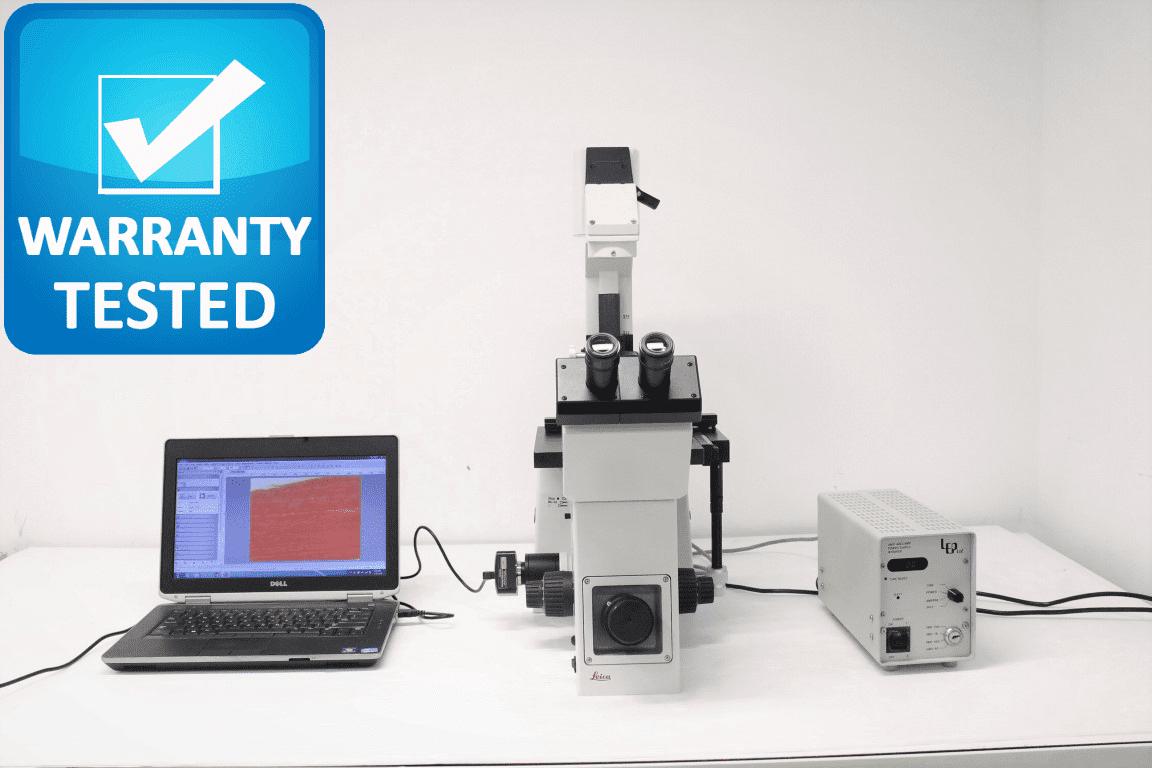 Leica DM IRB Fluorescence Microscope