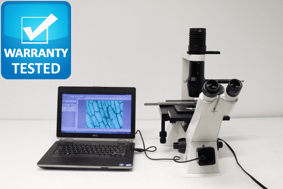 Zeiss Axiovert 40C Brightfield and Phase Contrast Microscope