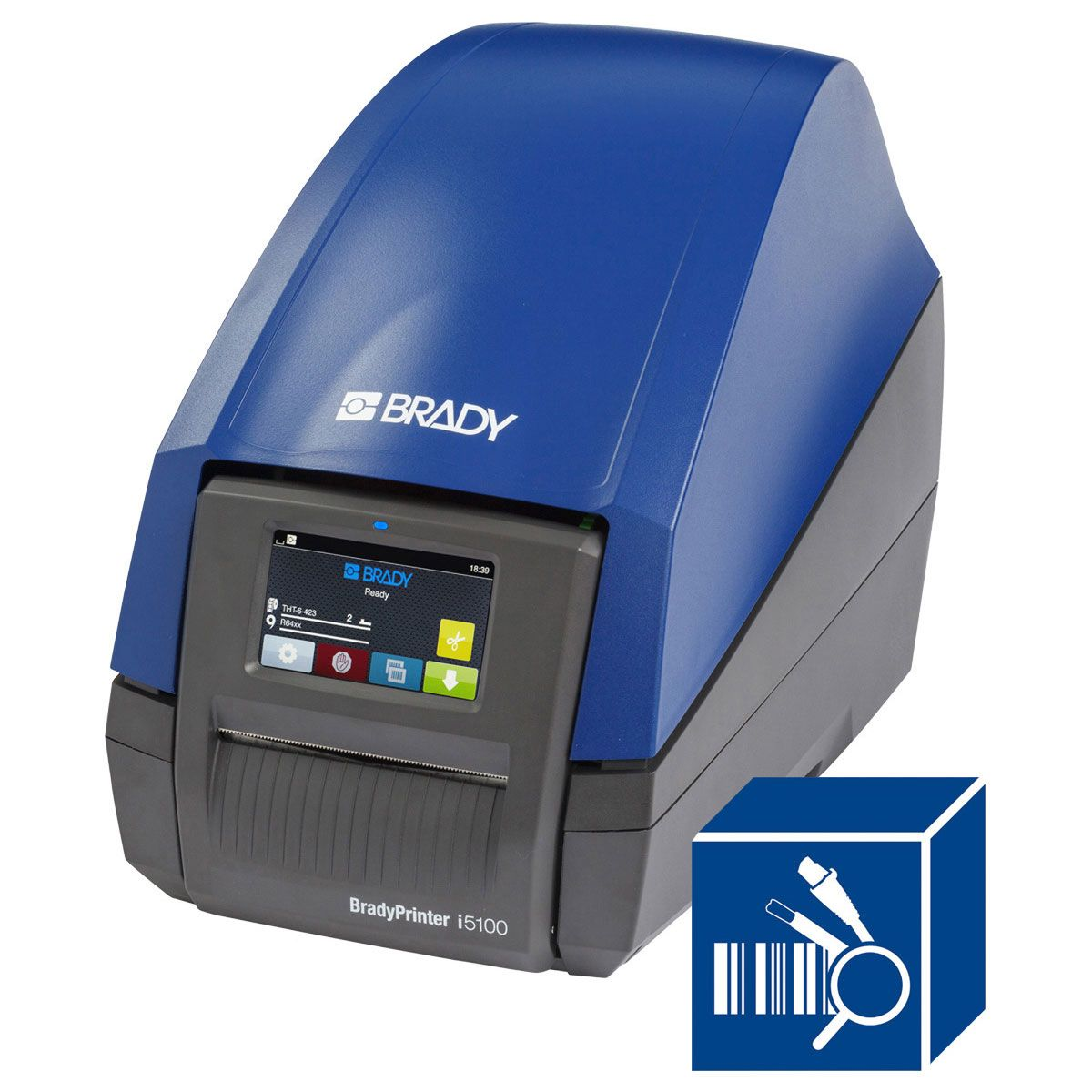 BradyPrinter i5100 Printer with Product and Wire ID Software