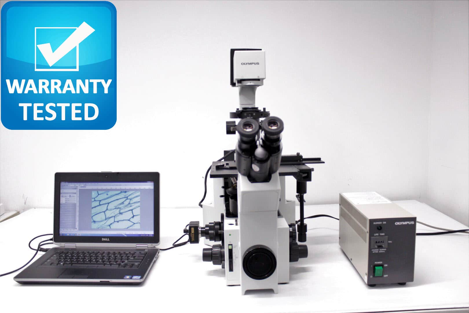 Olympus IX70 Inverted Fluorescence Phase Contrast Microscope Unit2