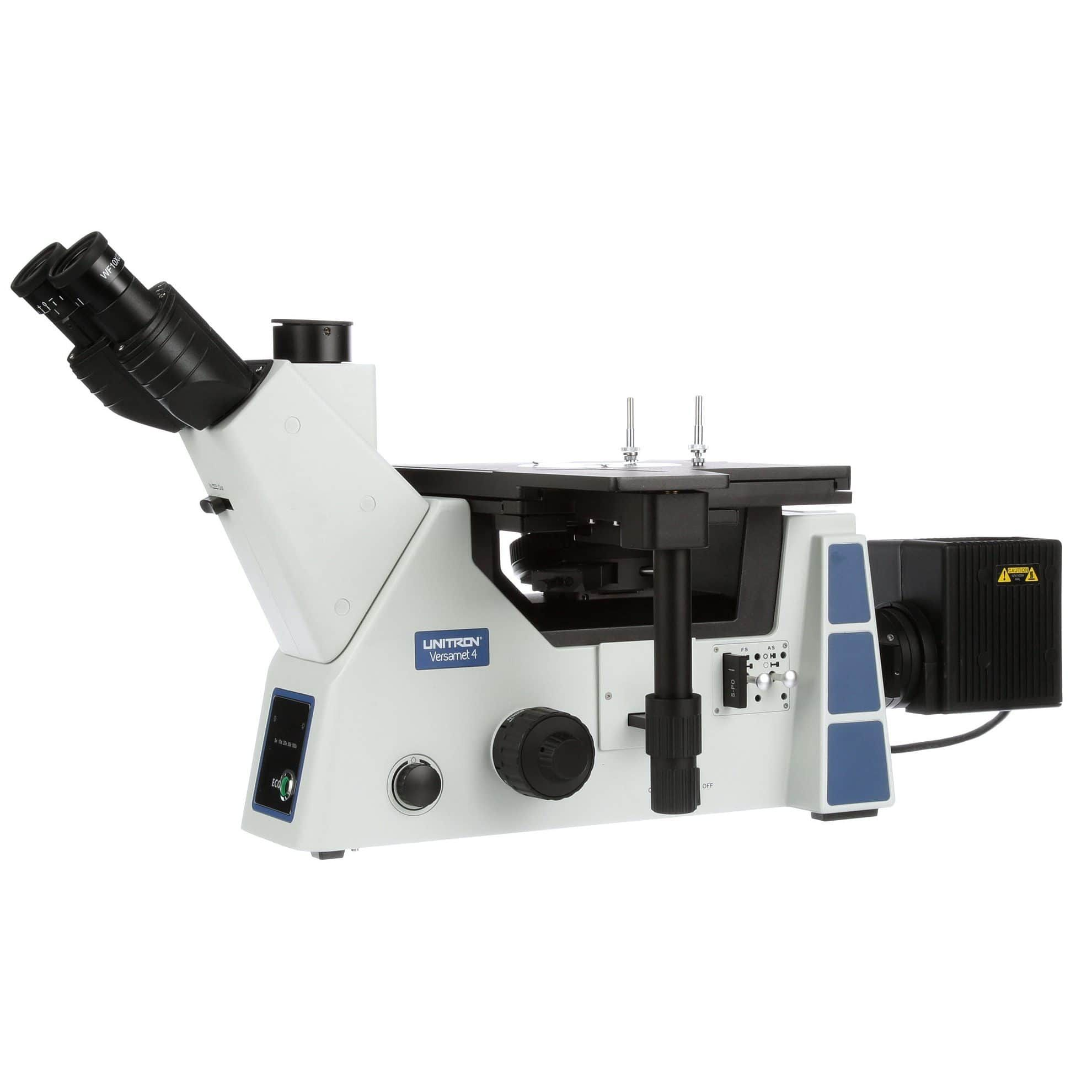 Unitron Versamet 4 Trinocular Inverted Metallurgical Microscope