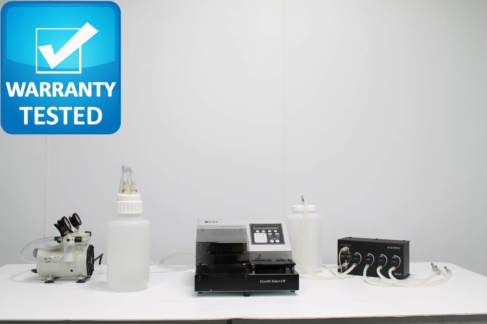 BioTek ELx405 Select CW Microplate Washer ELX405UCWVS