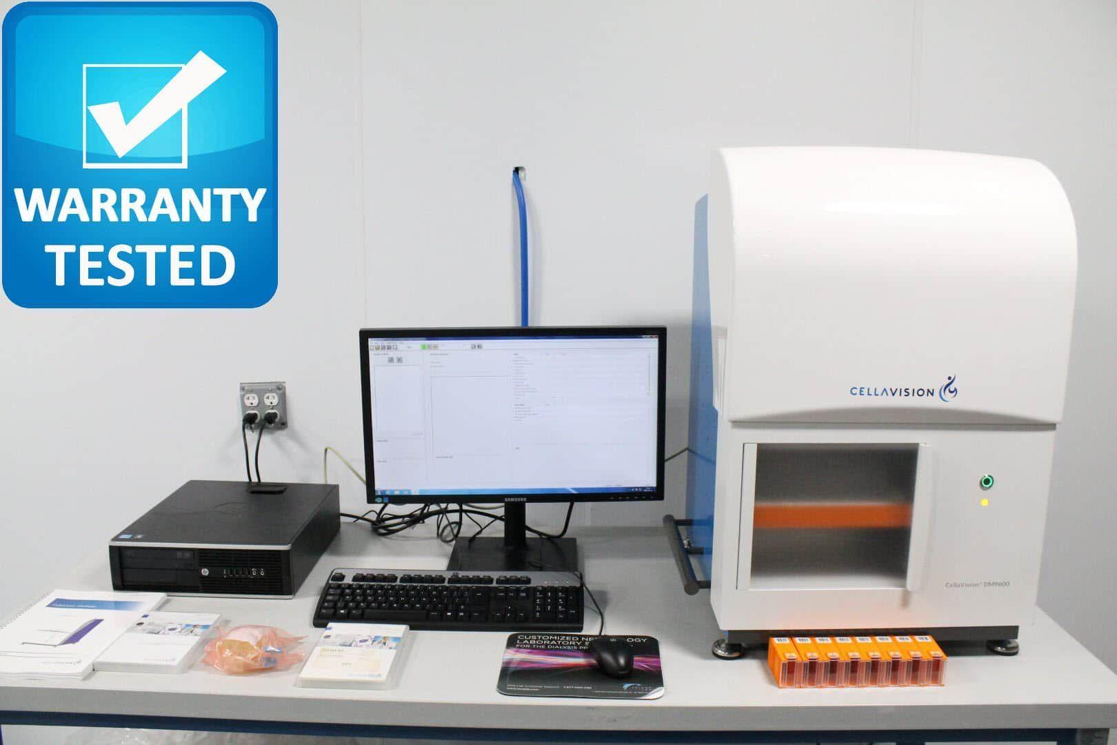 CellaVision DM9600 Digital Cell Morphology Analyzer Unit2