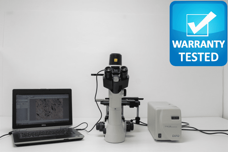 Nikon TS100 Inverted Fluorescence Microscope