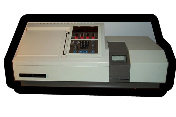 Perkin Elmer FTIR 783/883 IR Infrared Spectrophotometer, Perkin Elmer 783/883 FTIR IR Infrared Spect