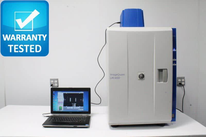 GE ImageQuant LAS-4000 Fluorescent Luminescent Image Analyzer Pred Amersham 600