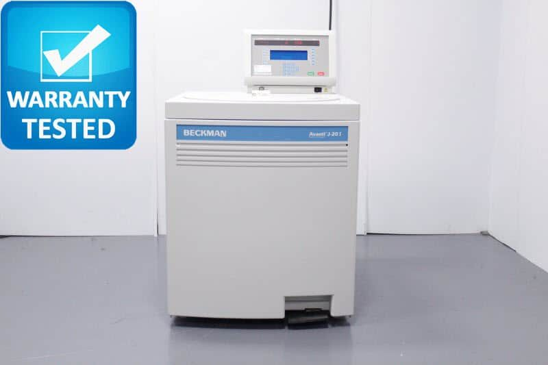 Beckman Coulter J-20I Refrigerated Centrifuge w/ JLA-16.250 Rotor 16,000RPM