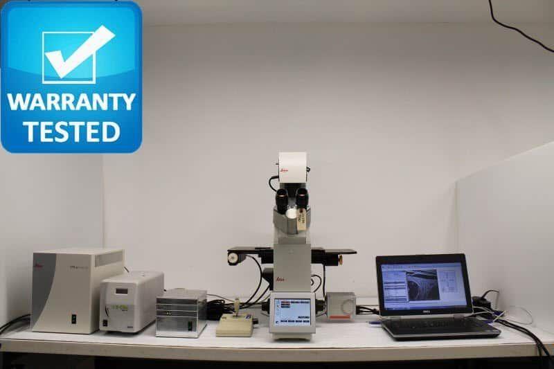 Leica DMi8 Fluorescence Motorized Phase Contrast Microscope