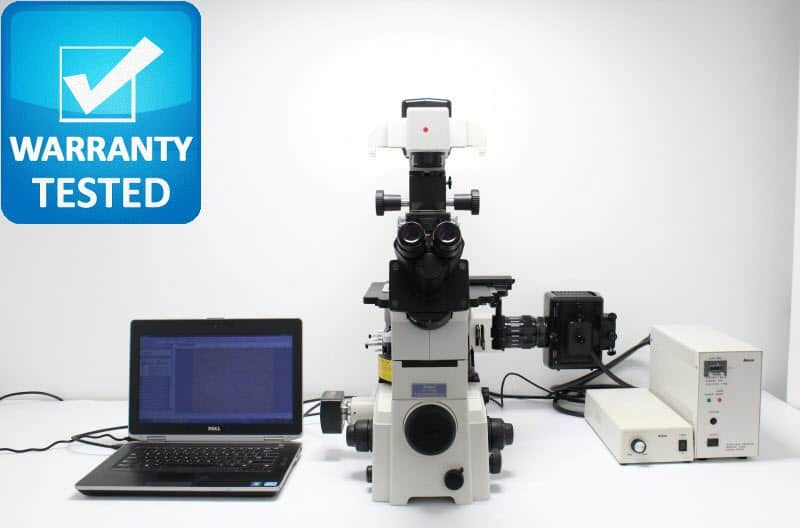 Nikon TE2000-U Inverted Fluorescence Phase Contrast Microscope Unit4