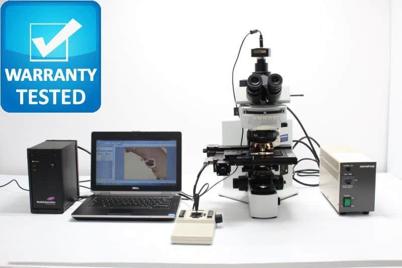 Olympus BX51 Fluorescence Motorized Microscope