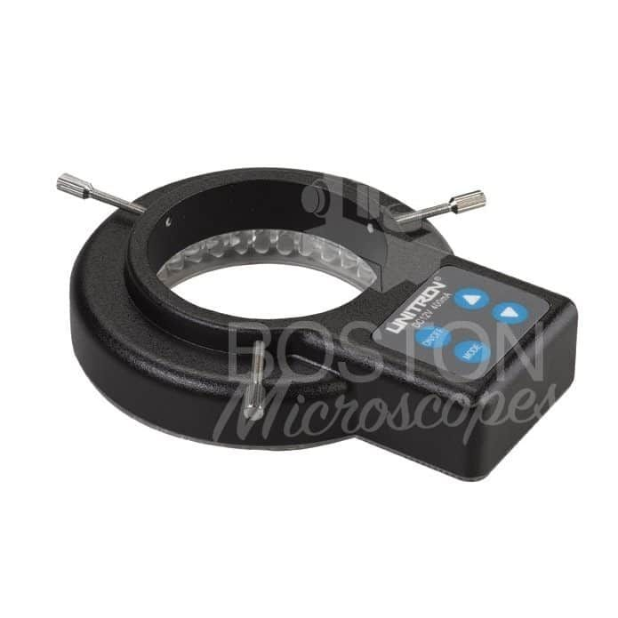 Accu-Scope LED ring illuminator, variable intensity, sectional light control, 60.5mm I.D.