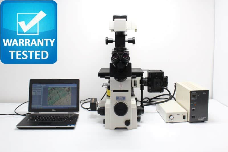 Nikon TE2000-U Inverted Fluorescence Phase Contrast Microscope Unit5