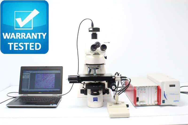 Zeiss Axioskop 2 mot plus Fluorescence Motorized Microscope