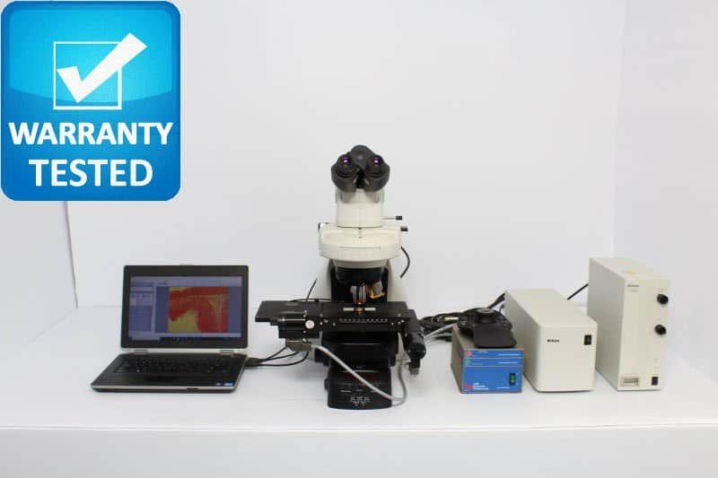 Nikon Ni-E Fluorescence Motorized DIC Polarization Microscope