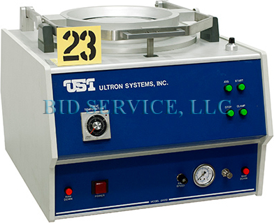 Ultron UH 130 Dicing Saws-Scribers Die Matrix Expander. Temperature