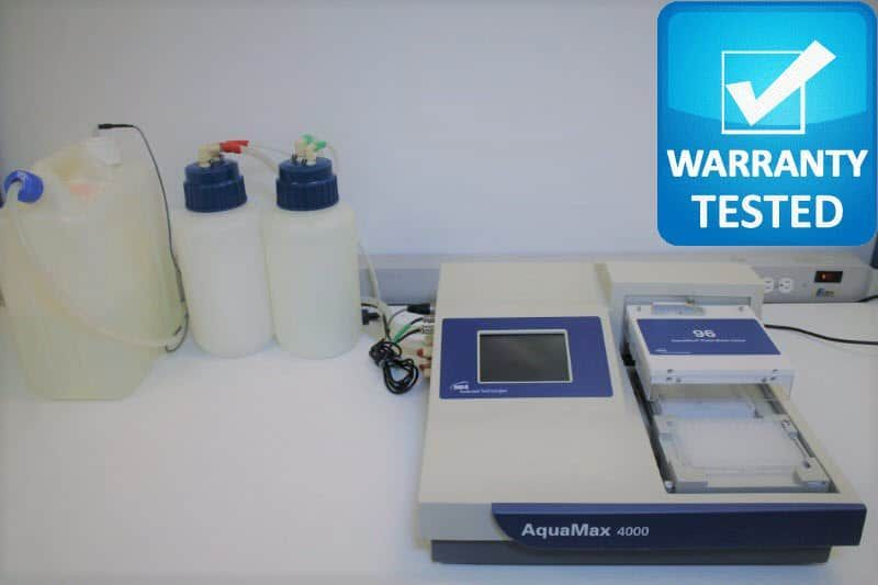 Molecular Devices AquaMax 4000 Microplate Washer AQ4K w/ 96-well Head Unit3