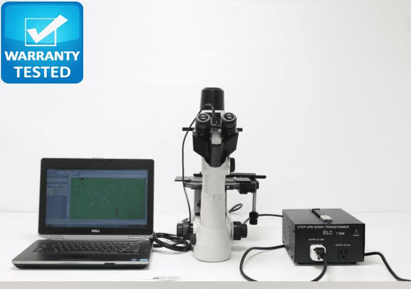Nikon TS100-F Inverted Phase Contrast Microscope Unit 3