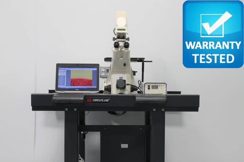 Zeiss Axiovert 200M Inverted Fluorescence Motorized DIC Polarization Phase Contrast Microscope Pred AXIO Observer