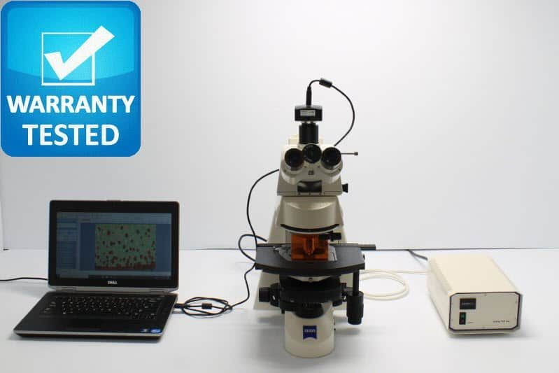 Zeiss Axioskop 2 plus Fluorescence Phase Contrast Microscope Unit2
