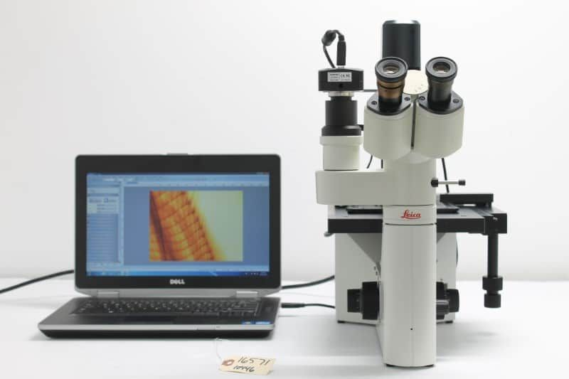 Leica DM IL Inverted Phase Contrast Microscope Unit2