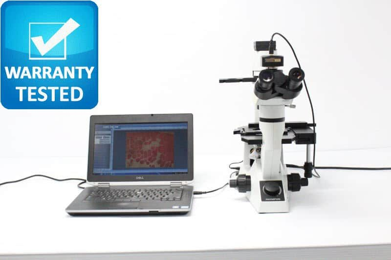 Olympus CKX41 Inverted Phase Contrast Microscope