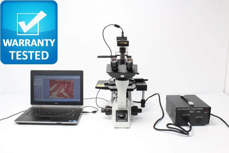 Olympus CK40 Inverted Phase Contrast Microscope