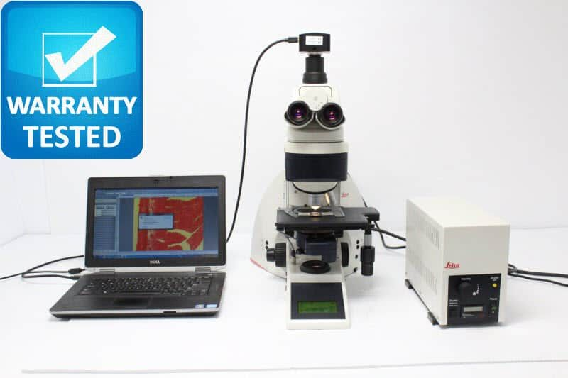 Leica DM4000 B Fluorescence Motorized Microscope Unit2
