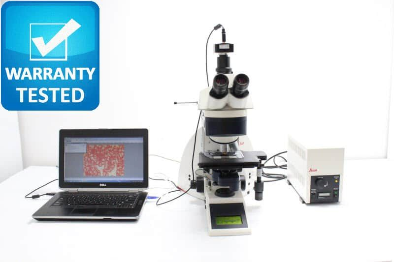 Leica DM4000 B Fluorescence Motorized Microscope