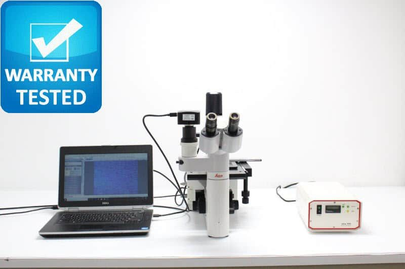 Leica DM IL Inverted Fluorescence Phase Contrast Microscope DMIL Unit2