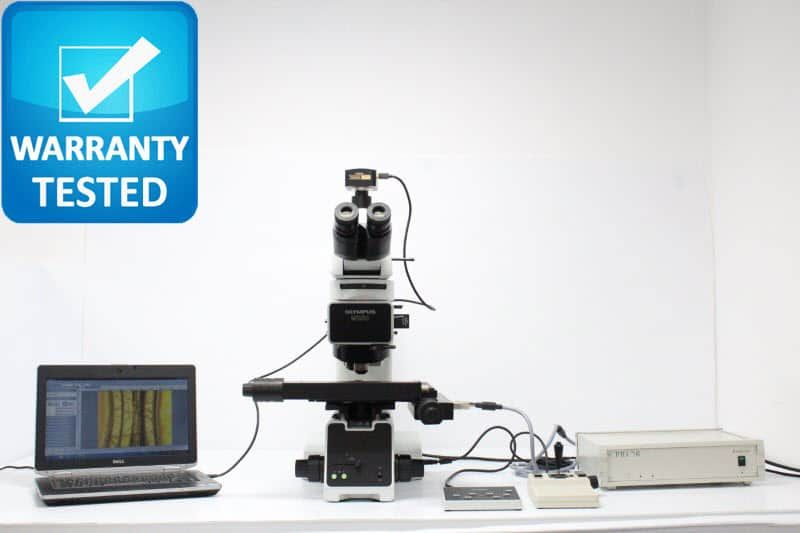 Olympus MX50 Motorized DIC Polarization Microscope MX50T-F