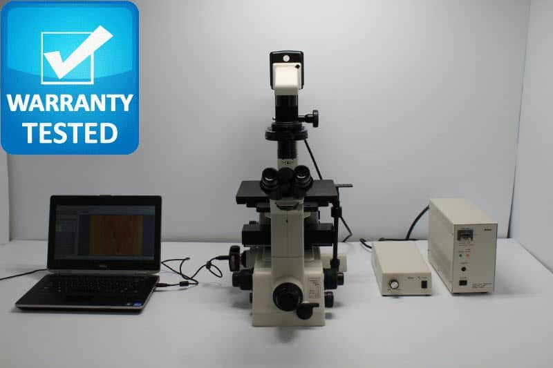 Nikon TE300 Inverted Fluorescence Phase Contrast Microscope Unit5
