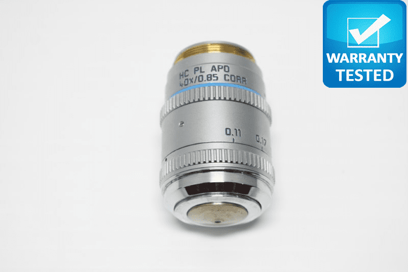 Leica HC PL APO 40x/0.85 CORR Microscope Objective 506294 Unit 2