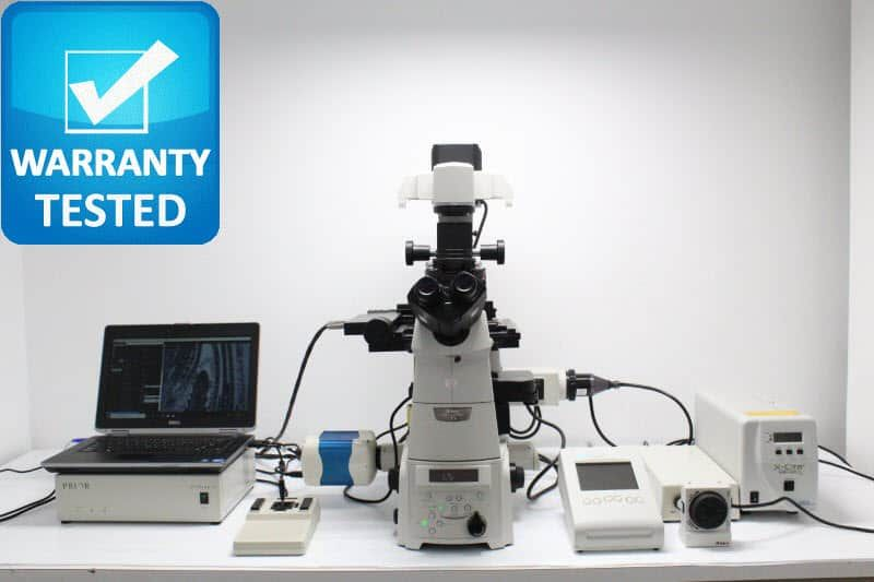Nikon Ti-E PFS Fluorescence Motorized DIC Polarization Ph Contrast Microscope