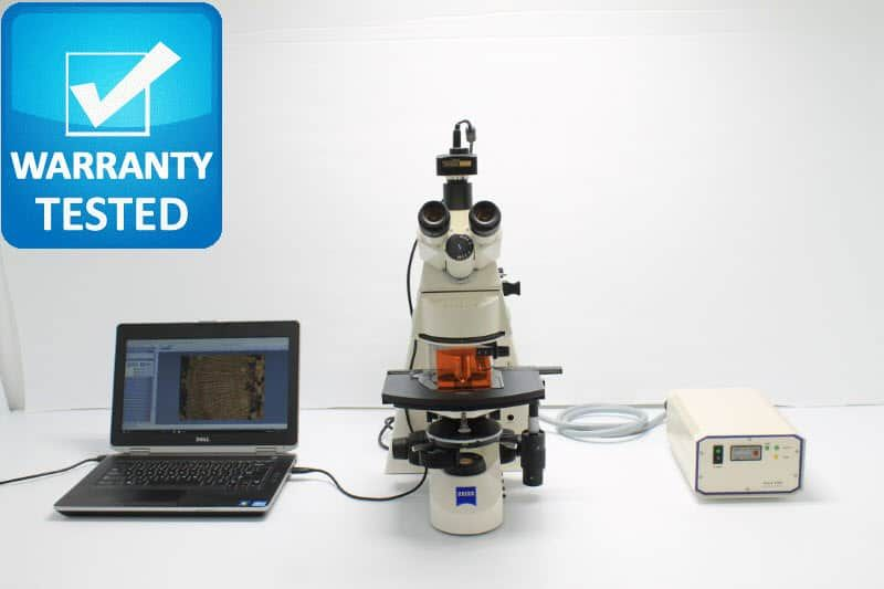 Zeiss Axioskop 2 plus Fluorescence Phase Contrast Microscope
