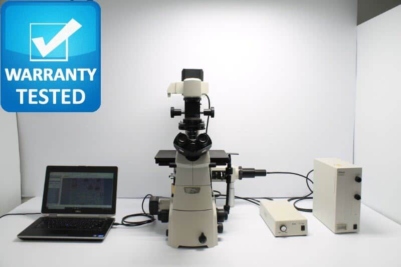 Nikon Ti-U Inverted Fluorescence Microscope
